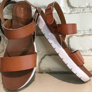 Brown sandals 8.5